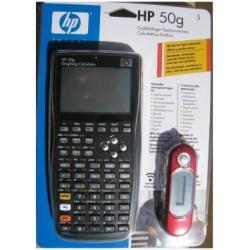HP 50G rekenmachine met handleiding in het Italiaans