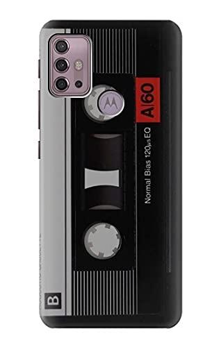 Innovedesire Vintage Cassette Tape Hülle Schutzhülle Taschen für Motorola Moto G30, G20, G10
