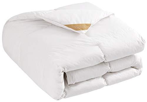 puredown® Trapunta in Piuma D'Oca Calda, 10,5Tog, Colore: Bianco, Cotone, White, King