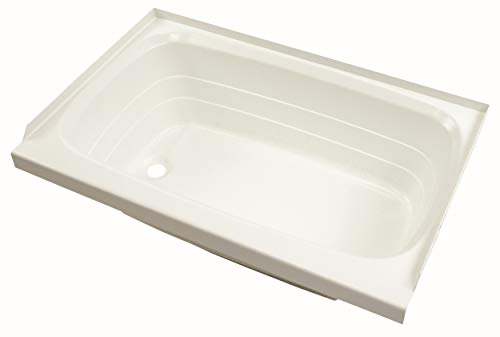 Lippert 209653 Better Bath RV Bath Tub 24quot x 36quot White