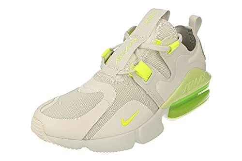 Nike Air MAX Infinity Mujeres Running Trainers BQ4284 Sneakers Zapatos (UK 6.5 US 9 EU 40.5, Photon Dust Lemon Venom 003)