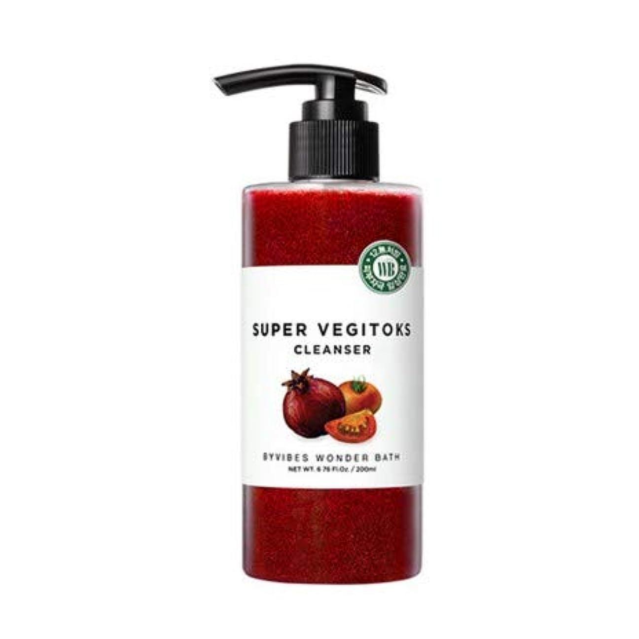 近所の桁飛び込むワンダーバス[Wonder Bath] スーパーベジトックスクレンザー (レッド) 300ml / Super Vegitoks Cleanser Red