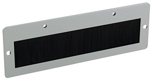 HEITRONIC Kabeldurchführung mit Bürsteneinsatz für Netzwerkschrank Serverschrank