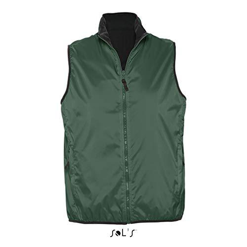 Sols - Winner - Unisex Wendeweste , Forest green , XL