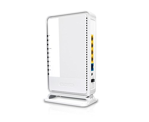 Sitecom WLR-4004 N300 Wi-Fi Gigabit Router - WLAN-Router (Einzelband (2,4GHz), Wi-Fi 4 (802.11n), 300 Mbit/s, 802.11b,802.11g,Wi-Fi 4 (802.11n), Gigabit Ethernet, 10,100,1000 Mbit/s)
