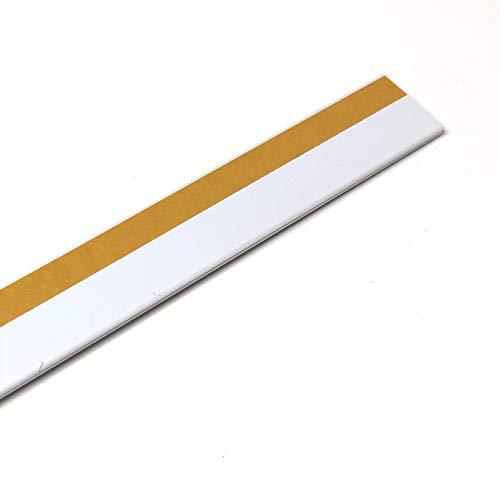 Pack de 50 portaprecios con adhesivo a 1 metro para etiquetas de 30mm Color Blanco.