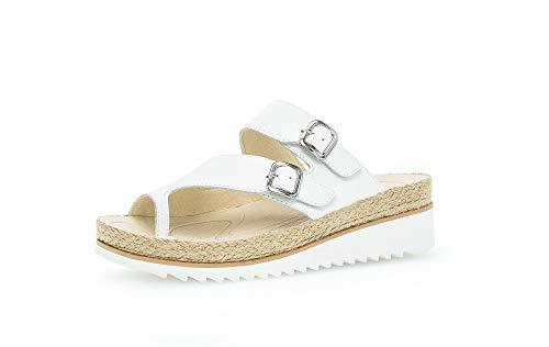 GABOR - Womens Sandals - GABOR - Gabor 63.722 - 21 Weiss - 6 UK