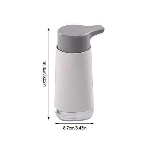 popchilli Drukfles 300ML, subfles vloeistof voor handwas, handmatige pers vloeibare zeep van de badkamer spoelbak, opbergfles wasmiddel voor multifunctionele douchegel, gemakkelijk te gebruiken
