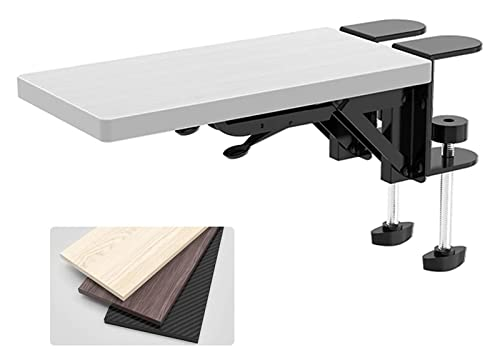 Disk da ufficio Bracciolo del bracciolo del bracciolo Vassoio della tastiera sotto il morsetto della scrivania Installare nella parte inferiore del vassoio della tastiera Vassoio di scorrimento del va