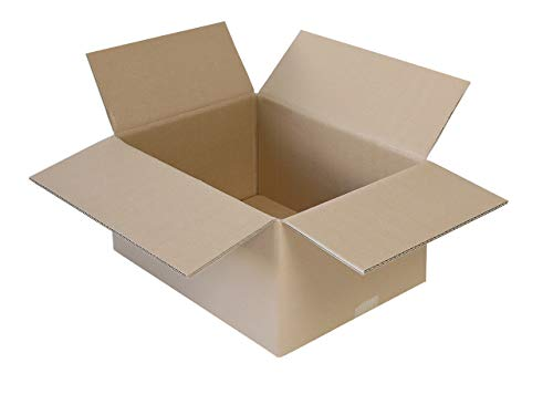 45 Faltkartons 400 x 300 x 200 mm   2-wellige Versandkartons geeignet für Versand mit DPD, GLS und Hermes   wählbar 15-900 Kartons