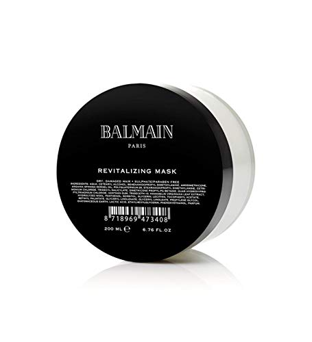 Mascarilla con tratamiento revitalizante Balmain, para cabellos dañados (200 ml)