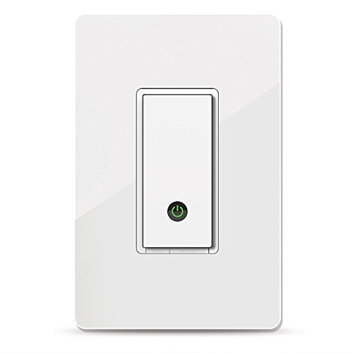 Wemo Light Switch, WiFi enabled, Works with Alexa and the Google Assistant (F7C030fc)