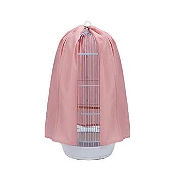 POPETPOP Couvercle Universel pour Cage à Oiseaux Capteur de Graines Perroquet Dôme Rond Haut Jupe Couvertures Légères Accessoires