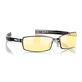 Gunnar Optiks PPK-00101 PPK Full Rim Advanced Video Gaming Glasses with Headset Compatibility and Amber Lens Tint, Gloss Onyx Frame Finish (B004FN1AES) | Amazon price tracker / tracking, Amazon price history charts, Amazon price watches, Amazon price drop alerts