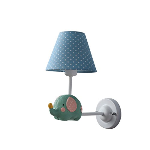 XW LRW American Boys Girls kinderslaapkamer slaapkamer hoofdlamp familie kleine en kleine wandlampen.