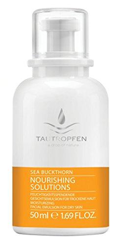 Tautropfen Nourishing/Sanddorn, Feuchtigkeitsspendene Gesichtsemulsion für trockene Haut, 50 ml