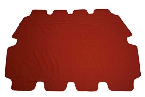 Spetebo Ersatzdach für Hollywoodschaukel in Terracotta - Universalgröße/Wasserdicht - Sonnendach Hollywoodschaukel Dach PVC