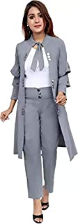 Women's Jumpsuit Dress Two Piece with Shrug