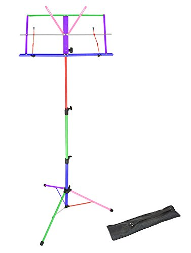 Opus Lightweight Folding Music Stand Supplied with Carrying Bag LMS02-MX
