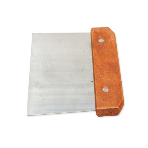 Tenflyer Loofhout handvat soap cutter recht roestvrijstalen wax dough snijder zeep