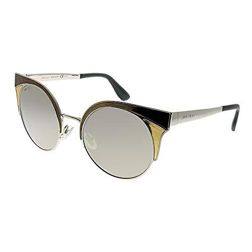 Jimmy Choo Damen ORA/S M3 VNE Sonnenbrille, Gold (Pd Brnzmetal/Grey Silver Grey Speckled), 51