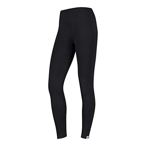 Calvin Klein CK Logo Women's Legging (1 Pack) Calcetines, Negro, Blanco, S para Mujer