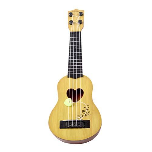 SUPVOX Concierto ukelele guitarra hawaiana 4 cuerdas para principiantes y profesionales
