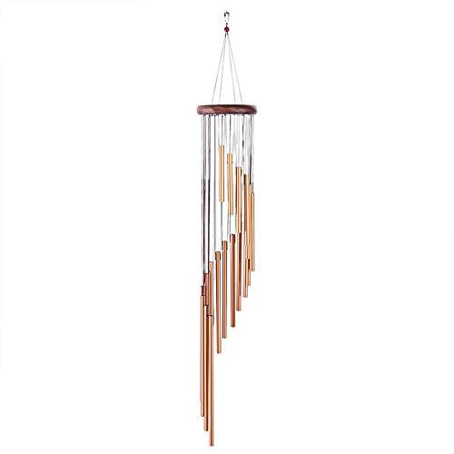 Weiye Carillon à Vent Solaire LED à Changement de Couleur pour extérieur décoratif Romantique à Suspendre
