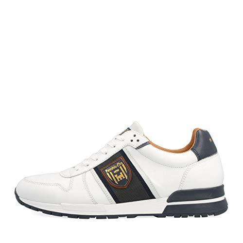 Pantofola d'Oro Sangano Uomo Low, Weiss-bunt-kombiniert, Gr. 41