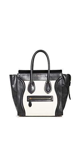 What Goes Around Comes Around Women's Celine Multi Leather Luggage Mirco Bag, Multi, One Size