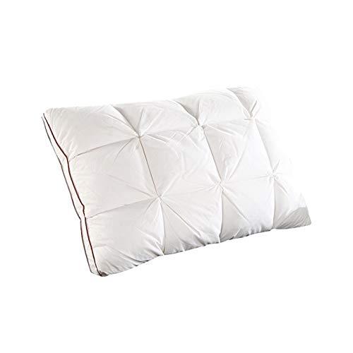 Almohadas De Plumas De Ganso Artificial Almohada De Plumas 48 * 74cm 3D Pan Casero Cuatro Estaciones Almohadas For Dormir Textiles For...