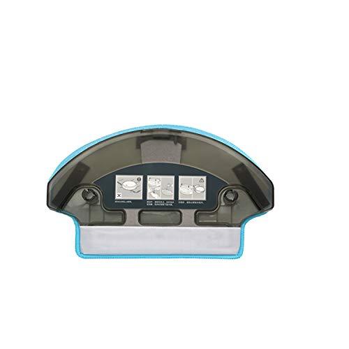Zealing 1 x Wassertank + 1 x Wischtuch für Ecovacs Deebot R95 R98 N78 M81 M81Pro M88 Roboter Staubsaugerteile Wassertank Ersatz