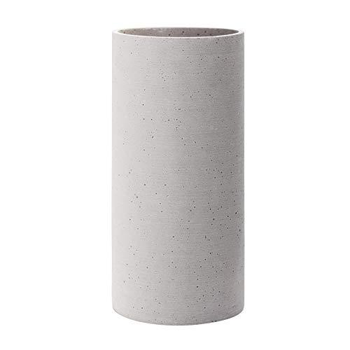 Blomus Coluna Vase, Beton, hellgrau, H 29 cm, Ø 14 cm