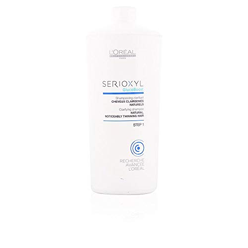 L'Oréal EXPERT PROFESSIONNEL SERIOXYL clarifying shampoo natural hair step 1 1000 ml