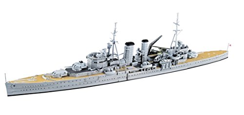 青島文化教材社 1/700 ウォーターラインシリーズ イギリス軍 重巡洋艦 エクセター スラバヤ沖海戦 プラモデル