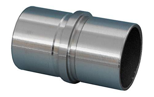 Rohrverbinder für 33,7 x 2 mm Rohr Edelstahl Flansch