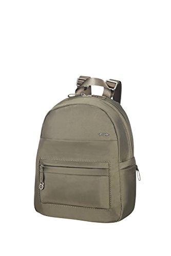 Samsonite Move 2.0 Backpack Mochila Tipo Casual, 7.59 litros, Color Verde Metalizado