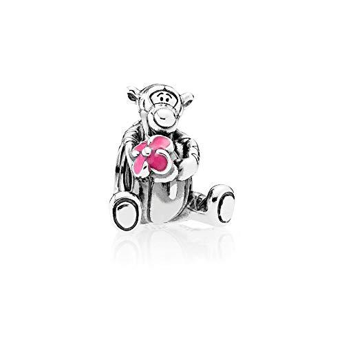 Pandora Disney Tigger Winnie the Pooh Charm Sterling Silber, Emaille 792135EN80