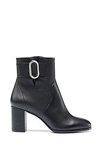 HUGO Damen Piper Bootie 70-Gr Mode-Stiefel, Black1, 41