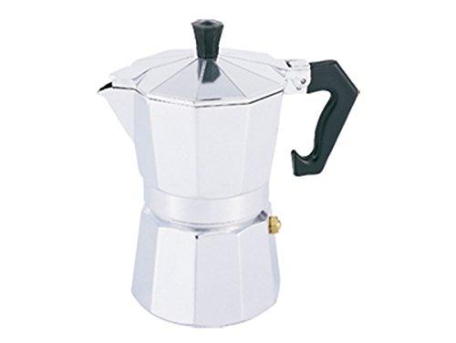 Bergner Espressokocher 6 Tassen Aluminium