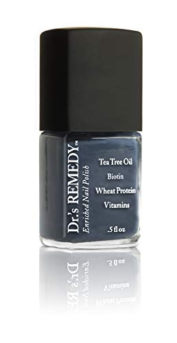 Dr.'s Remedy Organic DEVOTED Denim Nail Polish Long Lasting Antifungal Treatment for...