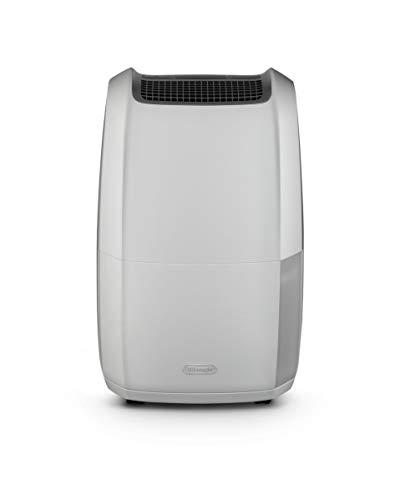 De'Longhi DDSX220 Tasciugo AriaDry Deumidificatore Ambiente Casa, 436 W, 20 Litri, 44 Decibel, Plastica, Bianco