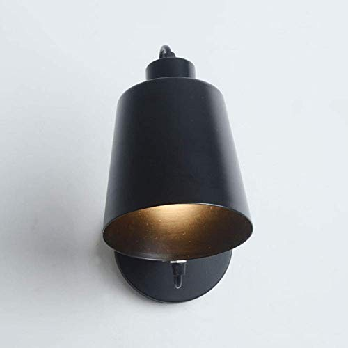Wandlamp, verstelbare besturing, van massief hout, gesmeed, hoek, lamp, modern, flexibel, nachtkastje, decoratie van ijzer