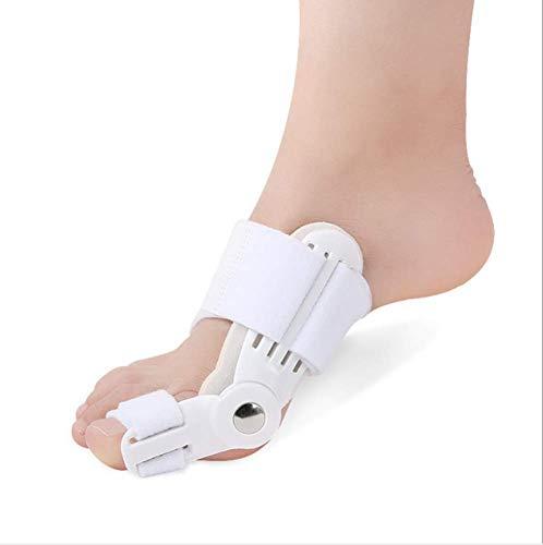 N /A QJYNS 2 Piezas de Corrector de enderezador de férula de juanete de Dedo Gordo, Herramienta de protección para el pie Hallux Valgus para el Alivio del Dolor del pie