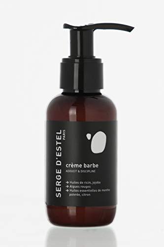 Serge D'Estel Paris Crema sin Sulfatos para Hidratar y Estimular el Crecimiento de la Barba, 100% Vegana, 100 ml