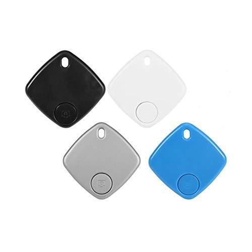 4 Pack Key Finder Slim Bluetooth Smart Lost Item Tracker Tag, Wallet Finder Locator for Keys Wallet Phone Glasses Luggage Pet Finder (4 Pack)