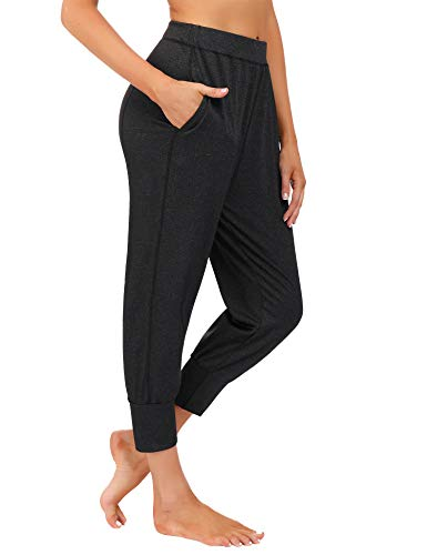 iClosam Pantaloni Sportivi Casual da Donna Pantaloni Jogger Attivi Pantaloni della Tuta Pantaloni della Tuta con Tasche per Eseguire Allenamento Palestra Yoga S-XXL
