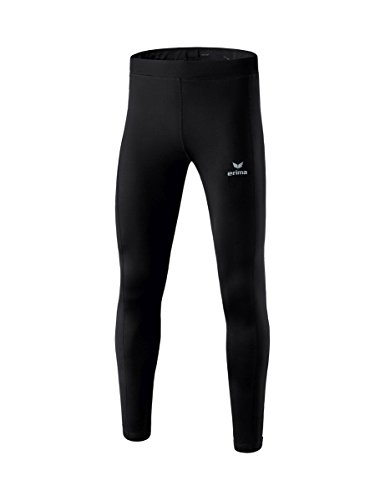 Erima Kinder Performance Winterlaufhose, schwarz, 164