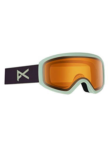 Anon Damen Insight Non Mirror Snowboard Brille, Purple/Amber