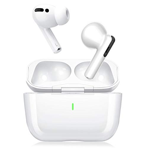 Wireless Earbuds Active Noise Cancelling, ANC Ear Buds Bluetooth 5.1 Earphones with 4 Built-in Mics Noise Cancelling, USB-C Charging,Touch Control,IPX5 Waterproof